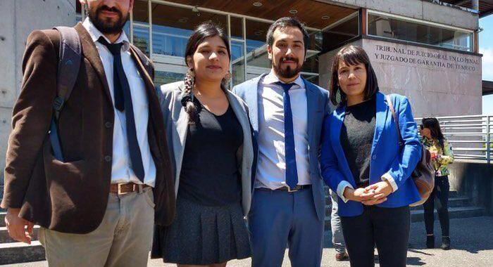 Equipo jurídico de CIDSUR interpone querellas a favor de sus abogados