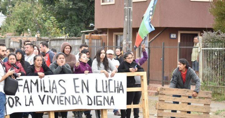 Declaración y denuncia sobre situación de campamentos de Temuco ante organismos internacionales de derechos humanos