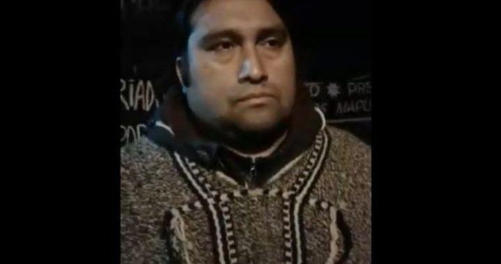 """Rodrigo Curipan tras reunión con Larraín: """"Estamos pidiendo al Estado que cumpla la igualdad ante la ley"""""""